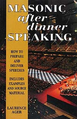 Masonic After Dinner Speaking