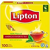 Lipton Black Tea, 100 ct