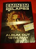EMINEM RELAPSE 28 X 20 approx INCHES POSTER