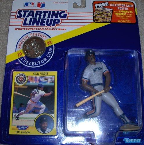 Cecil Fielder 1991 MLB Starting Linep - 1