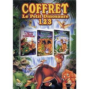 Le Petit Dinosaure - Vol.1, 2 et 3 : La Vallée des merveilles / La Source miraculeuse / Petit-Pied et son nouvel ami - Coffret 3 DVD
