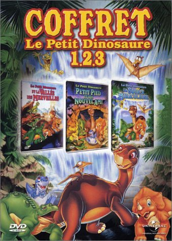 Le Petit Dinosaure - Vol.1, 2 et 3 : La Valle des merveilles / La Source miraculeuse / Petit-Pied et son nouvel ami - Coffret 3 DVD