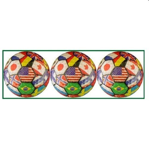 International Flags Designed Golf Balls - 3 balls in a box - 1