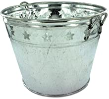 Ddi Tin Bucket With Stars (Pack Of 12)