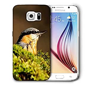 Snoogg Morning Sparrow Printed Protective Phone Back Case Cover For Samsung Galaxy S6 / S IIIIII