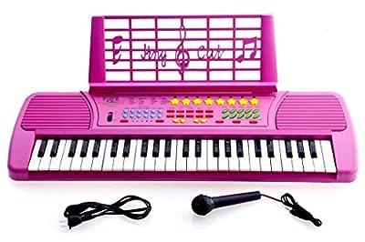 Ellegance Children 49 Keys Electronic Piano Music Keyboard