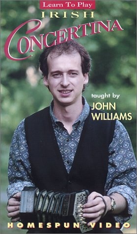 John Williams: Learn to Play Irish Concertina [VHS]