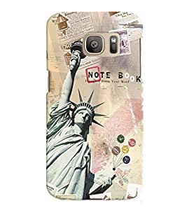 GADGET LOOKS PRINTED BACK COVER FOR Samsung Galaxy Note 7 MULTICOLOR