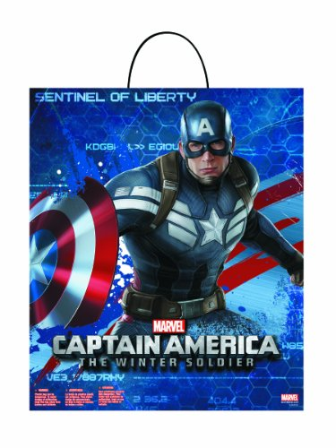 Disguise Marvel Captain America The Winter Soldier Movie 2 Treat Bag