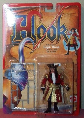 Buy Low Price Mattel Hook Tall Terror Captain Hook Grows Taller for Battle Action Figure (B000BVCSEE)