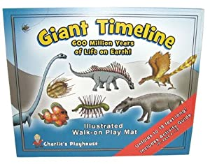 Giant Evolution Timeline: Book & Play Mat