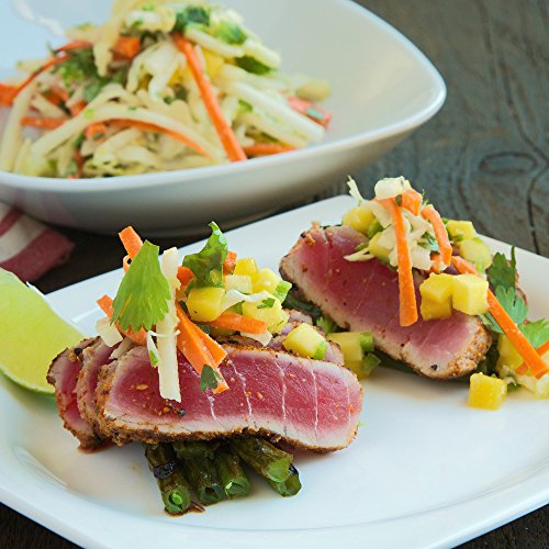 Seared Ahi Tuna with Miso Tahini Slaw by Chef'd (Dinner for 2)