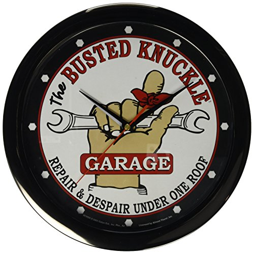 Busted Knuckle Garage BKG-67 Wall Clock (Busted Knuckle Garage Clock compare prices)