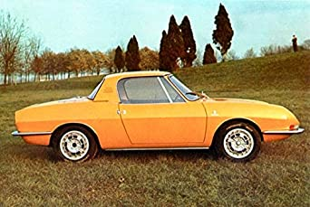1967 Fiat 850 Convertible Lusso Bertone Factory Photo at Amazon's