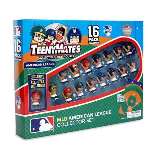 Party Animal MLB American League Teenymates Figure (16 Pack)