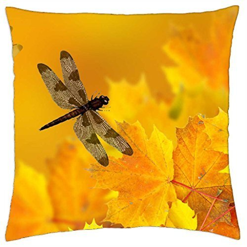Fallen Leaves - Throw Pillow Cover Case (16