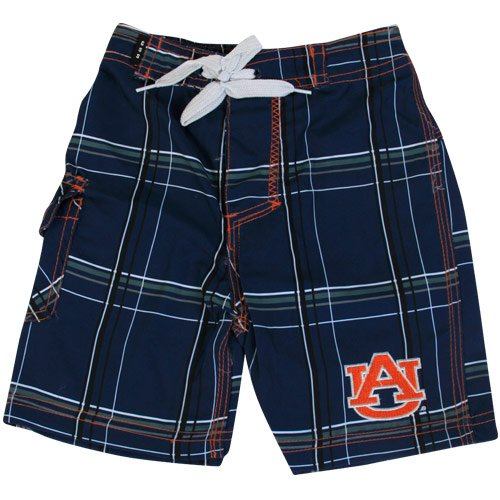 Auburn University Tigers Toddler Boys Swim Short - Bat Boy (Plaid Pattern) at Amazon.com