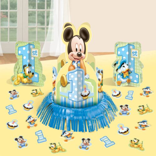 Mickey Mouse 1st Birthday Table Decorating Kit Centerpiece