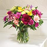 Friendship Bouquet Carnations and Freesias in Mixed Colours