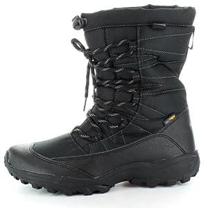 Regatta Jetson Waterproof and Breathable Snow Winter Boot Black Mens