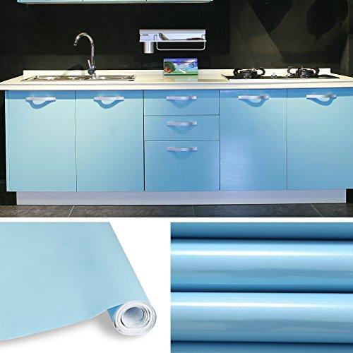 Aruhe-5x061-M-PVC-Kchenschrank-Aufkleber-Selbstklebend-Kchenfolie-Klebefolie-Schrankfolie-Deko-Tapeten-Rollen-fr-Kchenschrnke-Mbel-Blau