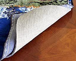 8x10 Anchor-Grip 22 Premium Non Slip Rug Pad - Felt and Rubber Area Rug Pad - Made in the USA