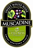NV Childress Vineyards American Muscadine Sweet White 750 mL