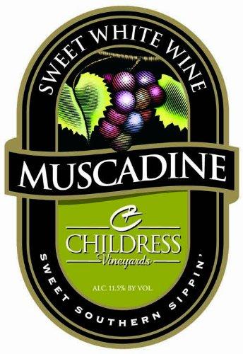 Nv Childress Vineyards American Muscadine Sweet White 750 Ml