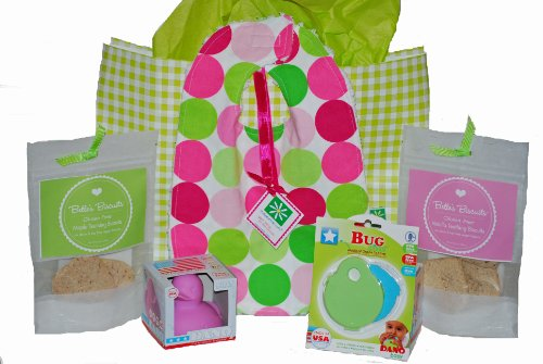 Belle's Biscuits Teething Essentials Gift Set for Babies & Toddlers