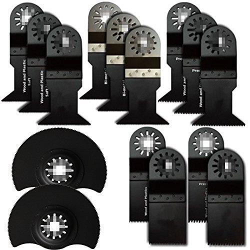 15 Pcs Oscillating Multi Tool Ecut Saw Blades Fit Fein,Dremel Multimaster front-1036151