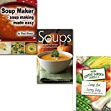 Norma Miller The Soup Maker Cookbook 3 Book Collection Every Day Everyday Family Recipes, (Soups: Simple and Easy Recipes for Soup-making Machines, Soup Maker - Soup Making Made Easy & [hardcover] A Soup for Every Day: 365 of Our Favourite Recipes)