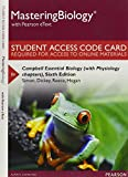 MasteringBiology with Pearson eText -- Standalone Access Card -- for Campbell Essential Biology (with Physiology chapters) (6th Edition)