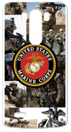 Lilichen Forever Collectible Usmc Marine Corps Case Cover For Lg G3(Laser Technology) -- Desgin By Lilichen