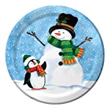 Creative Converting 8 Count Penguin Pal Dinner Plates