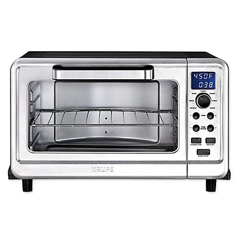 Krups Metal 6-Slice Digital Convection Toaster Oven in Black/Silver (Super Wave Oven Parts compare prices)