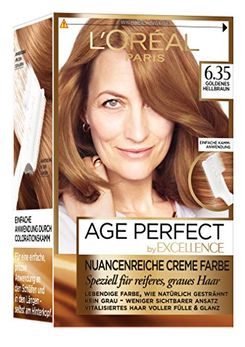 L'Oréal Paris Excellence Age Perfect zartgoldnes hellbraun, 3er Pack (3 x 1 Stück) thumbnail