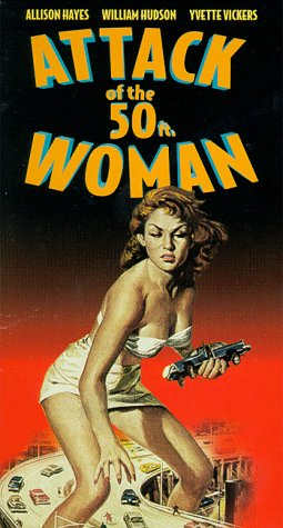 Attack of 50 Foot Woman [VHS] [Import]