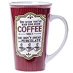 Coffee Percolate Mega Mug