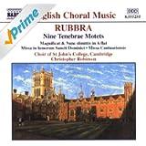 Rubbra: Nine Tenebrae Motets / Magnificat and Nunc Dimittis