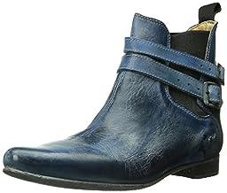 bed stu Women\'s Ravine Boot, Steel Blue Rustic, 9.5 M US