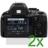 2x LCD Screen Protector For Nikon D5100