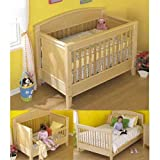 3-in-1 Bed for All Ages: Downloadable Woodworking Plan