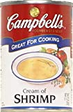 Campbell's Soup Cream of Shrimp 10.75 OZ - Pack of 2