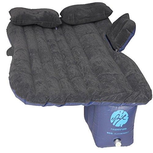 KING-DO-WAY-Luftmatratze-Luftbett-fuer-autos-selbststeuerung-bett-luft-schlafen-camping-car-ruecksitz-rest-aufblasbare-matratze-Camping-aufblasbare-Matratze-Schwarz
