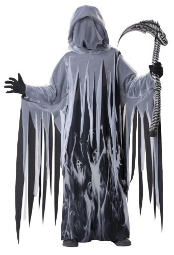 Soul Taker Grim Reaper Costume Child Large 10-12