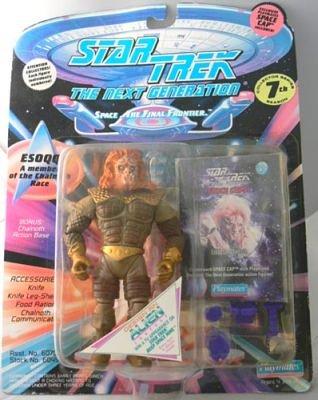 1 X Star Trek ESOQQ the Next Generation Action Figure