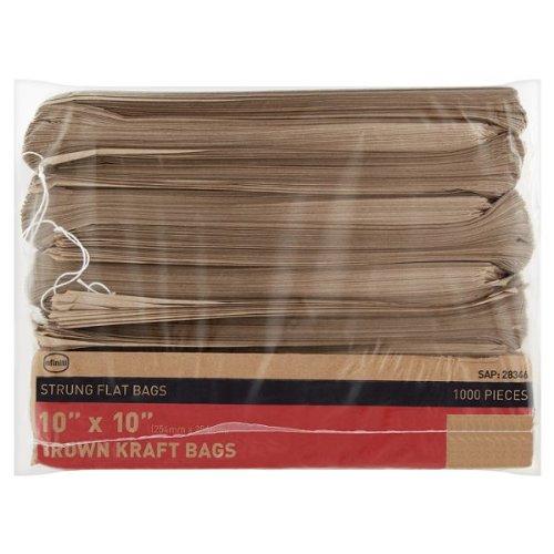 infiniti-kraft-marron-bolsas-de-papel-cuerdas-planas-bolsas-10-x-cm-254-lote-1