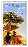 Le Nozze di Figaro - Les Noces de Figaro par Lorenzo Da Ponte