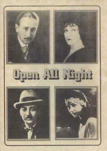 Open All Night [DVD] [1924] [Region 1] [US Import] [NTSC]