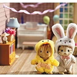 Calico Critters Costume Critters - Bunny and Chick